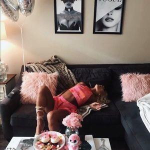 Two Piece Set - Warm Pink & Sweet Orange 💓